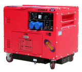 5kw Soundproof Machine Silent 220V Diesel Generator