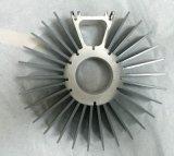 Dissipadores de calor de alumínio da extrusão da forma do girassol