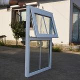 Kz327 het Witte Dubbele Glas van het Venster van het Profiel van de Kleur UPVC Afbaardende met Net