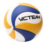 Os painéis oficiais materiais do tamanho 18 do PVC laminaram o voleibol