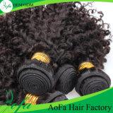 卸し売り最上質のバージンの毛の織り方の人間の毛髪の拡張