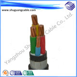 Oil Resistant XLPE Insulation PVC Sheath Armored Electric Power Cable