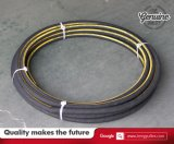 Шланг En 856 4sh Mutilspiral DIN гидровлический с крышкой одобренной Msha