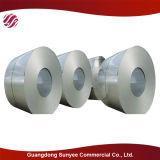 Bobina de acero galvanizado laminado en frío de chapa de acero acero de la bobina