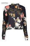 Металлическая куртка женщин спорта бомбардировщика