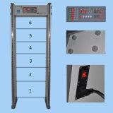 Weg durch Metalldetektor-Gatter für die Sicherheits-Prüfung