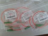 E2000 coleta óptica de fibra del cable de 0.9 milímetros, coleta óptica de la fibra E2000