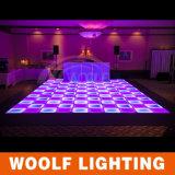 段階RGBによってつけられるミラーDMX LEDのダンス・フロアと結婚する2016の新しい到着