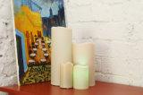 Bougies sans flamme scintillantes avec contrôle vocal, lumière jaune - LEDs divines