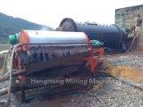 Séparateur magnétique de charbon de fer d'or de sable efficace élevé de silice, séparateur magnétique primaire à vendre, prix magnétique de séparateur, extraction de l'or