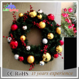 La más nueva luz de la decoración de la guirnalda de la guirnalda del festival del adorno de Navidad de la Navidad