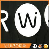 Logo léger acrylique de mini signe de lettre de prix usine