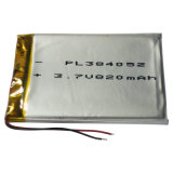 3.7V Rechargeable Li-Polymer Battery für Bluetooth Headset (900mAh)
