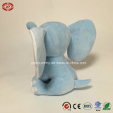 刺繍されたジャンボ空色象の柔らかいプラシ天のおもちゃ