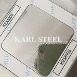 201ステンレス鋼の銀のカラーによって浮彫りにされるKem008シート