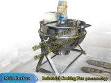 Jarabe de cocción Caldera con el agitador