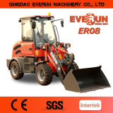 Everun Zl08 4WD Minilandwirtschaftliche Maschine, 800kg Kapazitat, MIT Schnellwechsler