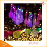 水低下20/30LEDクリスマスの祝祭のための太陽ストリングライトは飾る