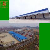 Edificio prefabricado de la casa prefabricada del almacén de la estructura del marco de acero