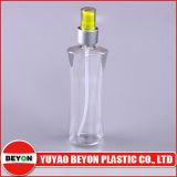 Bouteille en plastique transparente vide du jet 230ml pour l'empaquetage de soin personnel