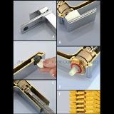 Grand dos de chrome reconnu par certificat dans le mélangeur simple de douche de traitement de mur
