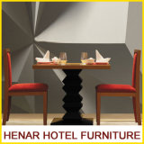 Silla de mesa de madera de madera Modern Restaurant Furniture Set for Hotel