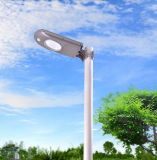 Lumière solaire grise de jardin du boîtier 5-Years-Life de couleur