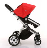 Neue Entwurfs-Qualität 4 in 1 Baby-Spaziergänger-Babypram-Kinderwagen mit Luft-Gummireifen