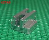 Pieza de aluminio que trabaja a máquina del CNC de la fábrica para la telecomunicación
