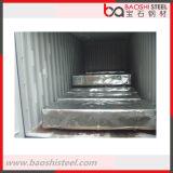 El cinc cubrió el metal de los materiales de construcción galvanizado cubriendo la hoja