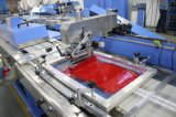 Novo tipo - máquina de impressão automática da tela da etiqueta do fato de 2 cores com Ce