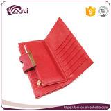 Beste RFID Anti-diefstal Portefeuille, de Goedkope In het groot Portefeuille van Bifold van de Vrouwen van het Leer van Pu