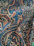 Telas Chiffon do poliéster colorido da impressão para vestidos