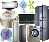 가정용품 테스트를 위한 품질 관리 또는 마지막 검사 서비스