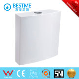 Design de salle de bain Hang in Wall Plastic Water Tank Flush Toilet Tank