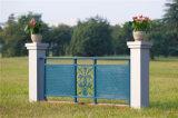 Balcón de acero galvanizado decorativo de alta calidad 2 que cercan con barandilla de la aleación de Haohan Alluminum
