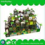 Castelo impertinente do campo de jogos interno por atacado da série da casa de árvore do equipamento
