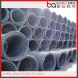 Tipo de fio de aço carbono, haste de arame de aço de 5,5 mm