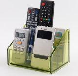 Kundenspezifischer Acryl-Fernsehapparat-Fernsteuerungshalter-Organisator
