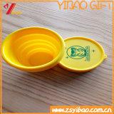 Promoción de venta caliente de silicona Traval taza de silicona portátil Copa