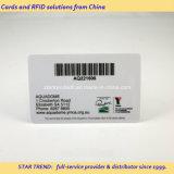 Cartão do PVC do código 39 com o código de barras original para a promoção