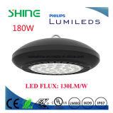 Indicatore luminoso della baia del UFO di alluminio IP67 dell'alloggiamento impermeabile della lega alto