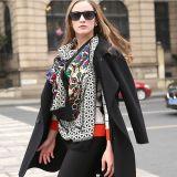 Xaile longo do lenço da caxemira dos Scarves de lãs das mulheres da forma grande