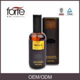 Etiqueta privada de aceite de argán marroquí tratamiento del pelo de Petróleo