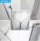목욕탕 (BL-F3501)를 위한 새로운 위생 상품 다이아몬드 모양 Frameless 경첩 샤워 울안