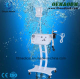 Equipo hidratante de la belleza del agua del oxígeno de la piel facial portable del jet