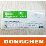 Contrassegno su ordinazione della fiala di Enanthate del testoterone 10ml, contrassegno della bottiglia di Anabolizantes Testosterona