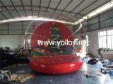 Globe gonflable de neige de Noël à taille humaine