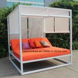 Aluminium moderne Sunbed de patio de Poolside de jardin de meubles extérieurs d'hôtel