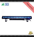 Indicatore luminoso esterno dell'indicatore luminoso della lavata della parete dell'indicatore luminoso 18*10W della lavata del LED